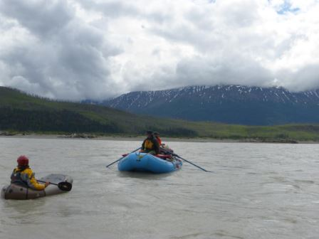 Floating on the Chitina