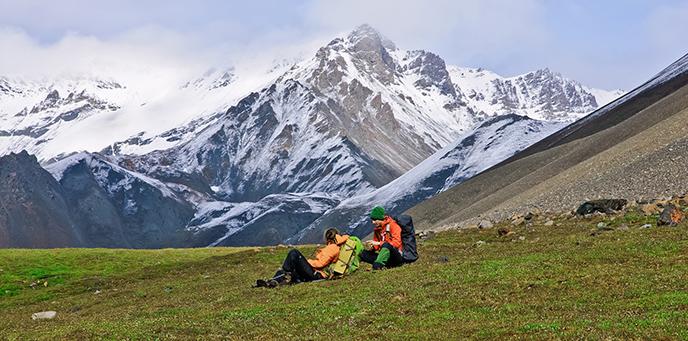 Backpacking Wrangell St Elias National Park Preserve US