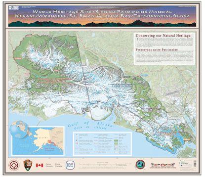 World Heritage Wrangell St Elias National Park Preserve US