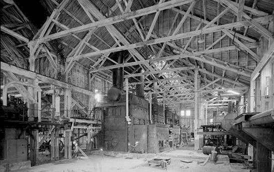 Inside the Power Plant building