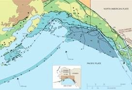 Southern Alaska is comprised of different landmasses
