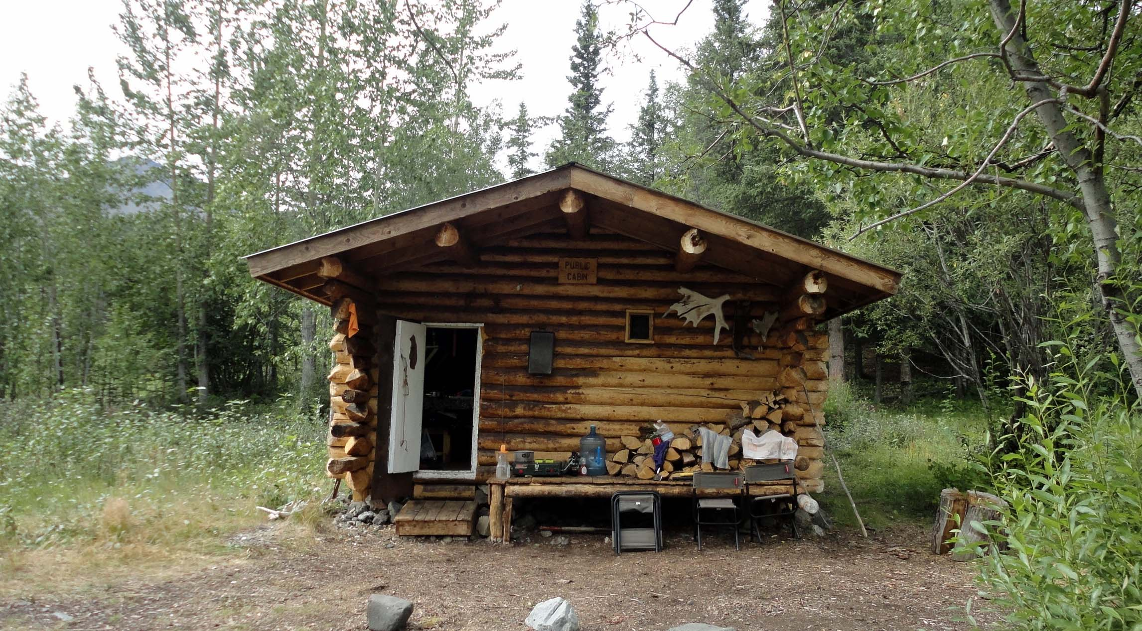 Nugget Creek Cabin Wrangell St Elias National Park