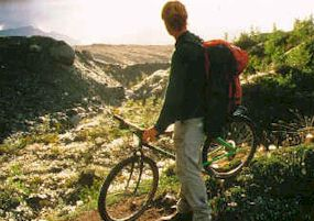 Mountain Biking near Kennecott