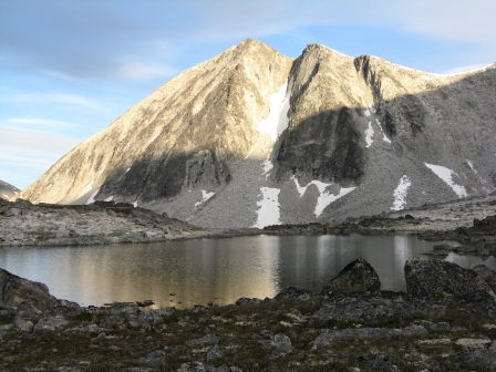 Lake on Iceberg to Bremner Route