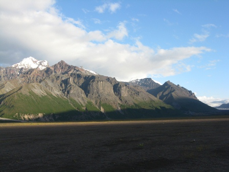 Mountains east of the Copper River