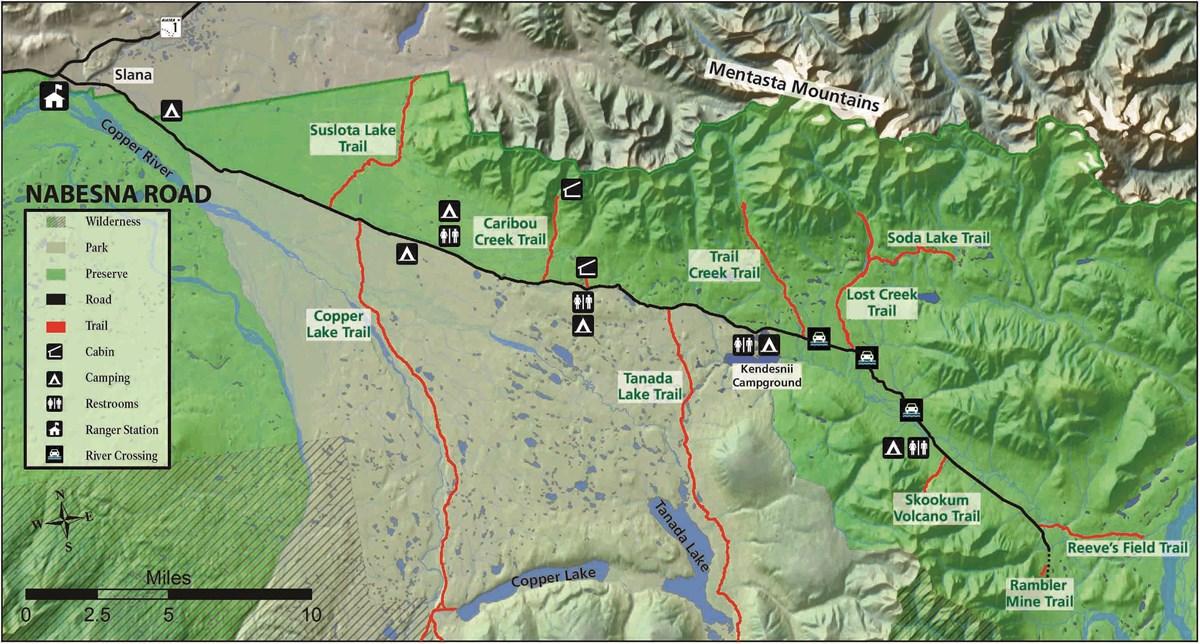 Nabesna Rd Map