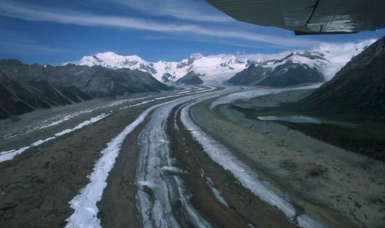 A flightseeing trip in the Wrangell Mountains is an Alaskan highlight.