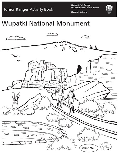 Wupatki Jr. Ranger booklet Cover