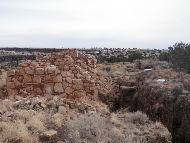 Kaibab House Pueblo in Wupatki Back country