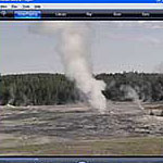 A live video camera monitors activity at and near Old Faithful everyday!