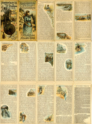 Complete NPRR brochure, Alice's Adventures in the New Wonderland, 1885
