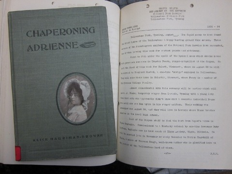 "Cover of Alice Harriman-Browne's book, ""Chaperoning Adrienne"