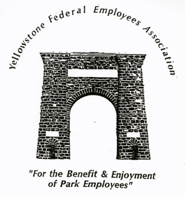 YFEA logo featuring the Roosevelt Arch, circa 2000.