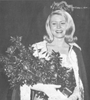 Jenny Grissom is crowned Miss Yellowstone 1966