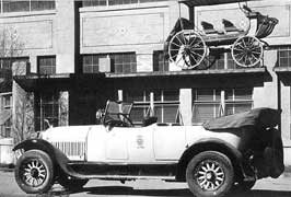 1917 White Motor Company Touring Car Yellowstone
