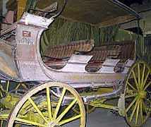 (YELL 7579) 4-horse Yellowstone Observation Wagon, Yellowstone-Western Stage Company