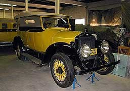 1917 White Motor Company Touring Car