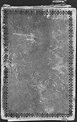 Cover of Thomas Moran's diary.