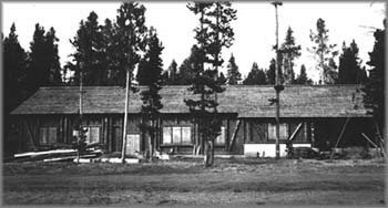 Historical photo of the Lake Fish Hatchery