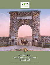 2016 Yellowstone Resources and Issues Handbook Cover