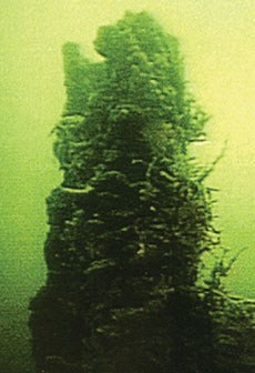 Underwater photo of Bridge Bay spire