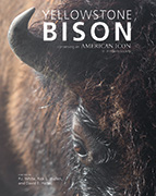 A photo of the cover for Yellowstone Bison: Conserving an American Icon in Modern Society