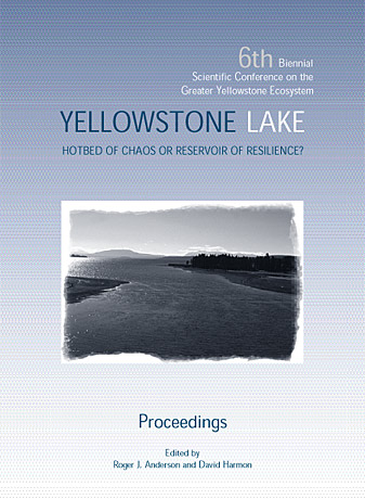 Cover of the 6th proceedings - image of Yellowstone Lake