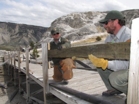Iconic Yellowstone Boardwalks