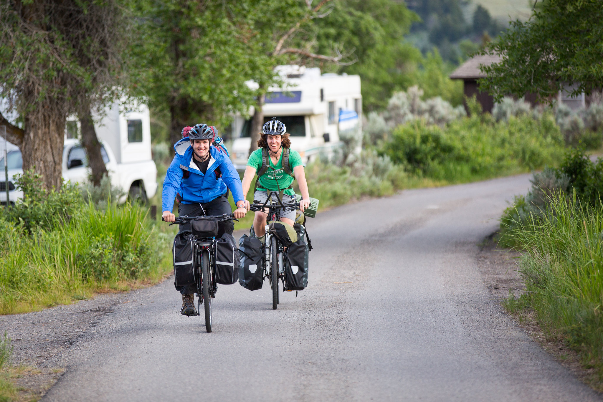 Electric bicycles in Glacier, Grand Teton, Yellowstone, and the National Elk Refuge - Yellowstone National Park (U.S. National Park Service)