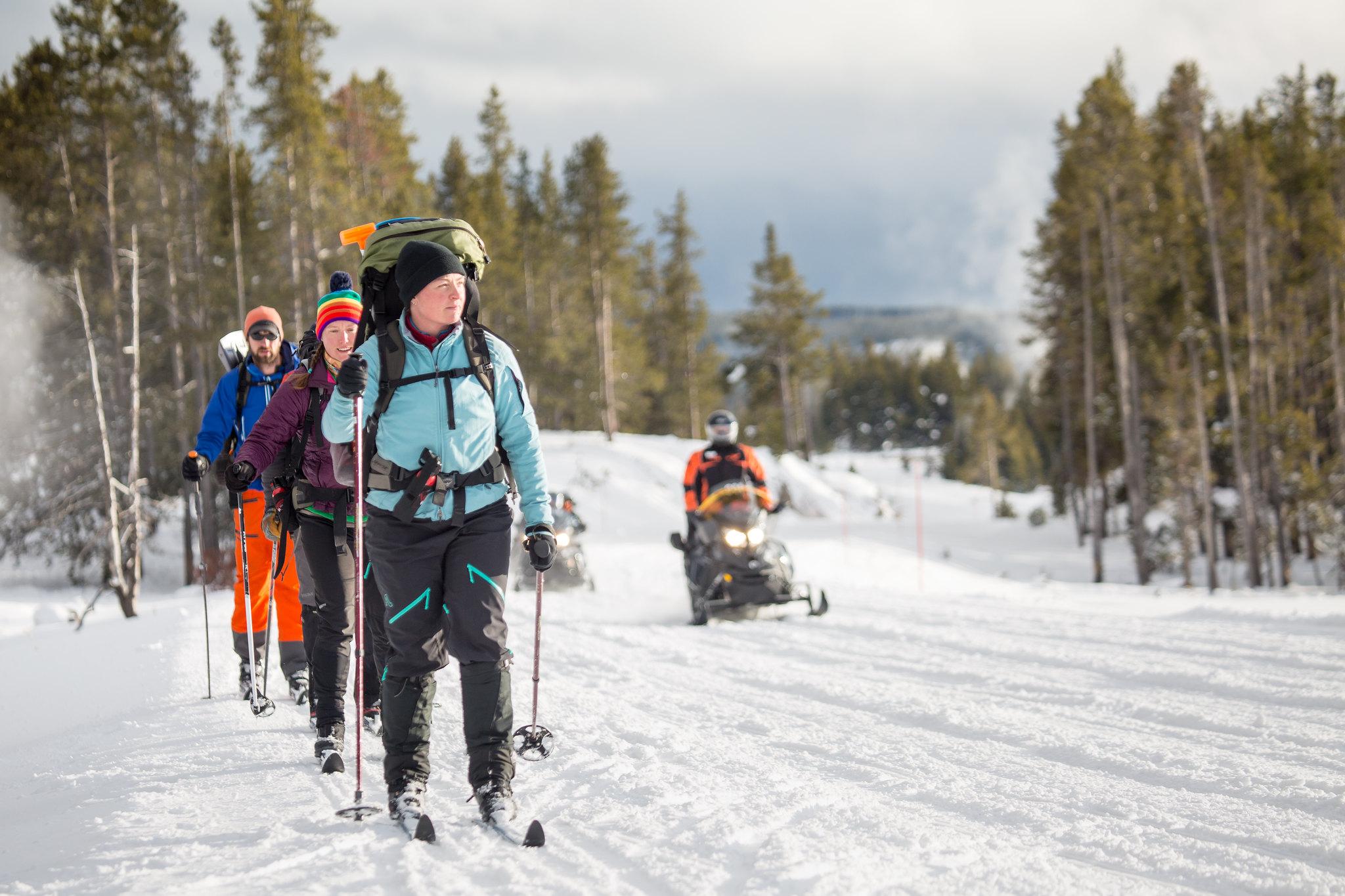 Yellowstone's winter season starts December 15, 2019 - Yellowstone National Park (U.S. National Park Service)