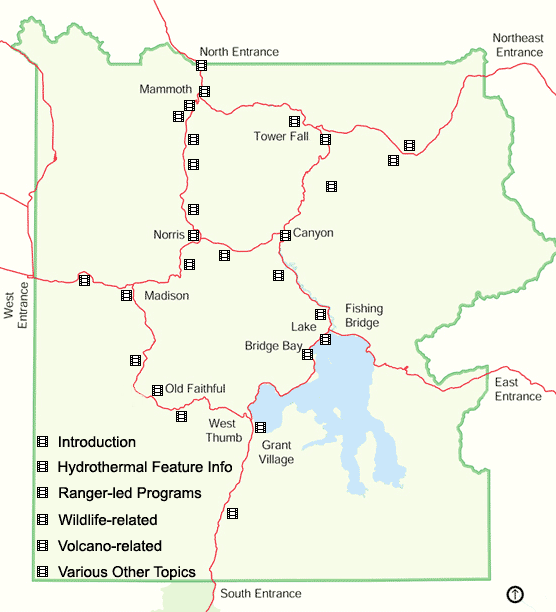 Inside Yellowstone Video Series Yellowstone National Park US - Yellowstone on a map of the us