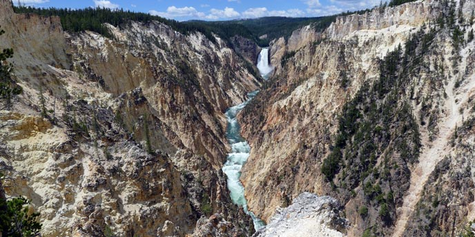 Explore the Canyon Village Area  Yellowstone National Park US