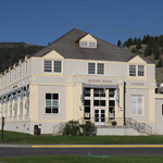 Mammoth Hot Springs Hotel is shown
