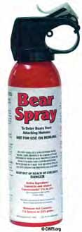 Bear Spray Can