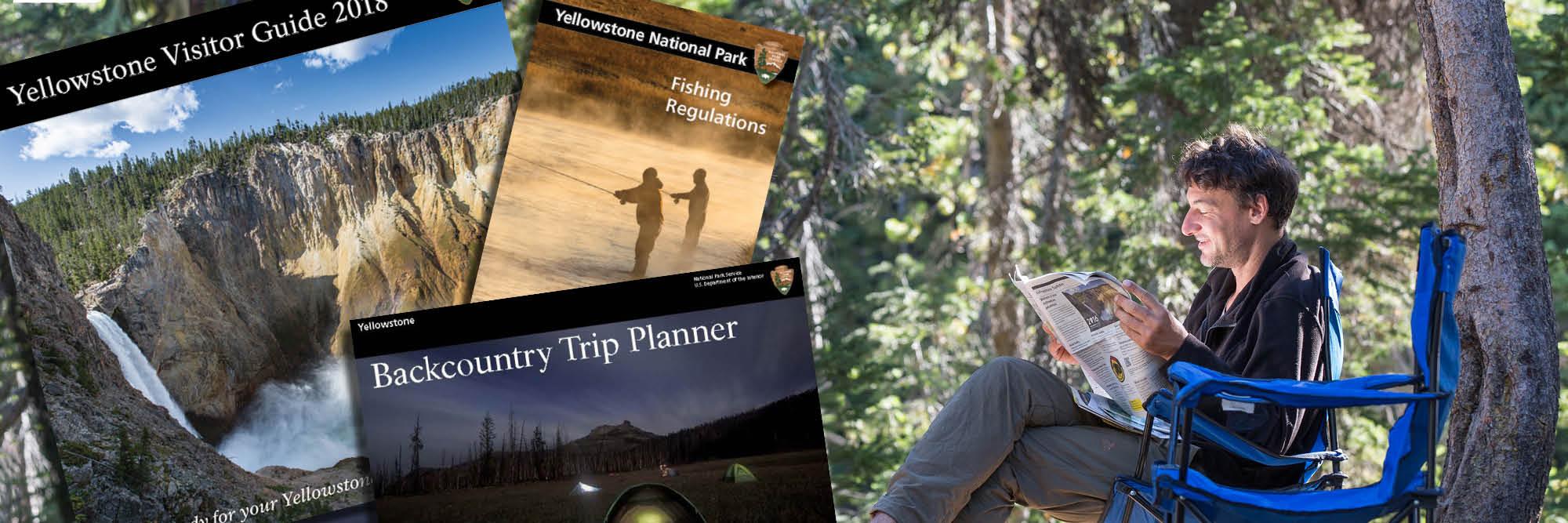 Brochures Yellowstone National Park U S National Park