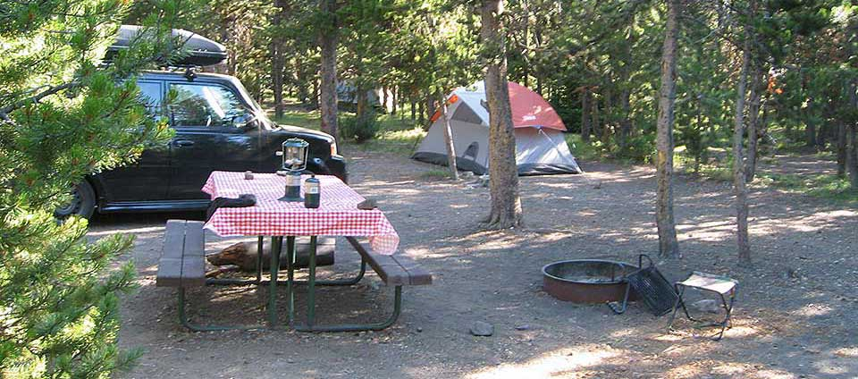 Indian Creek Campground   Yellowstone National Park (U.S. National Park  Service)