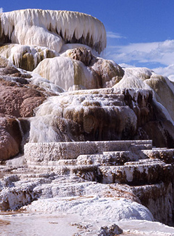 Travertine Terraces Yellowstone National Park U S National Park Service