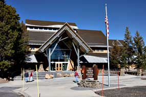 The Old Faithful Visitor Education Center
