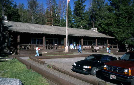 The exterior of the historic Roosevelt Lodge