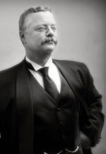 Photo of Joe Wiegand as Theodore Roosevelt