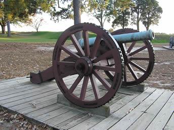 Revolutionary War Artillery - Yorktown Battlefield Part of ...