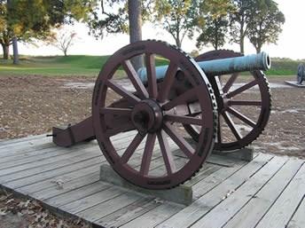 Revolutionary War Artillery - Yorktown Battlefield Part of