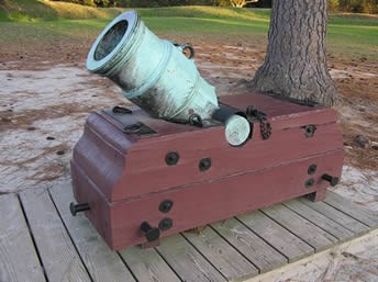 Revolutionary War Artillery - Yorktown Battlefield Part of