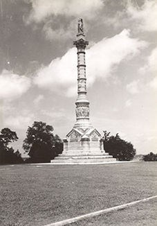 Yorktown Victory Monument, July 1942