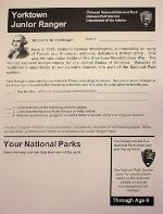 Junior Ranger Booklet Through Age 6