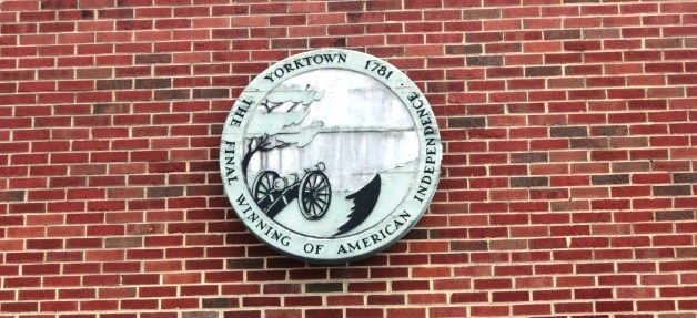 Entrance Seal at Yorktown Battlefield Visitor Center