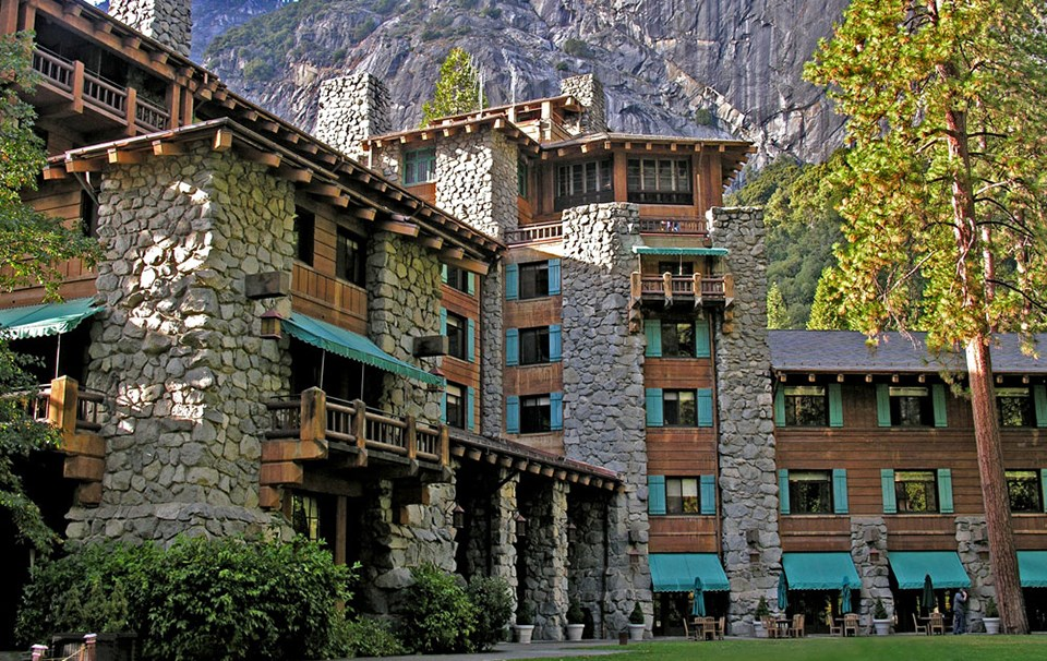 The Ahwahnee exterior