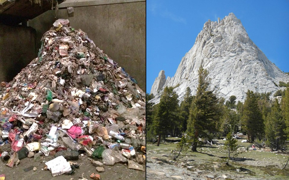 zero landfill initiative yosemite national park u s national