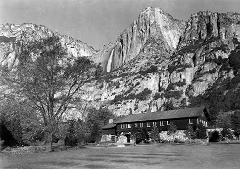Yosemite Valley Museum Building (historic photo)