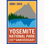 Yosemite's 125th Anniversary Logo